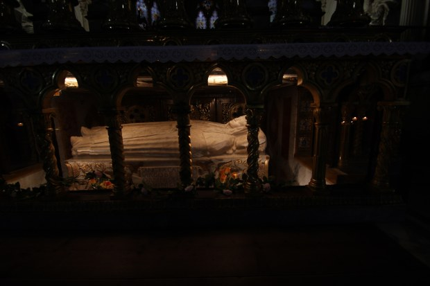 The tomb of St. Catherine